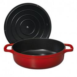 Round low casserole