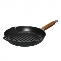 Grillpans wood handle