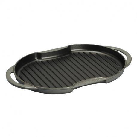 Dual handle oval sun grill