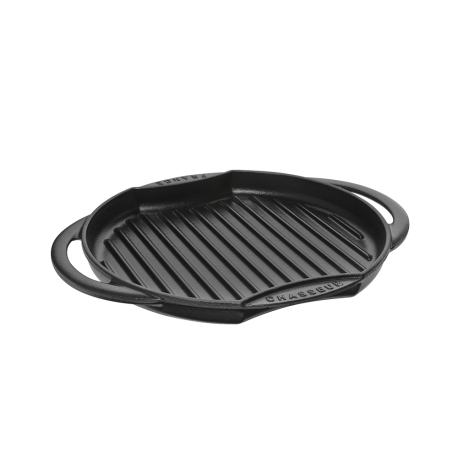 Dual handle round sun grill