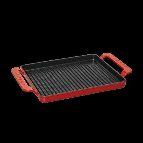 Dual handle rectangular grill